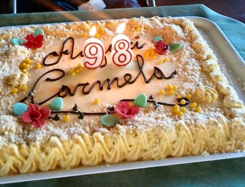 Carmela compie 98 anni!!!