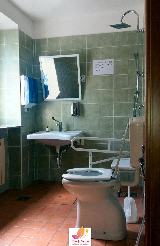 Bagno 1 villa la rocca residenza per anziani roma a - Bagno la villa pinarella ...