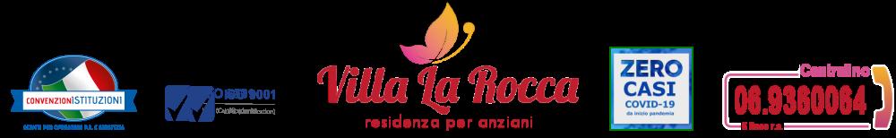 VILLA la ROCCA – CASA DI RIPOSO ROMA –  RSA Castelli Romani Logo